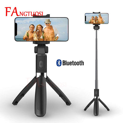 Wireless Bluetooth Handheld Shutter Remote Extendable Mini Tripod