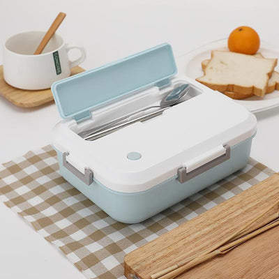 Lunch Box BPA FREE Eco-Friendly Food Container With Tableware Microwavable Bento Box for kids