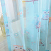 Image of NAPEARL Blackout curtains cartoon owl bedroom kid