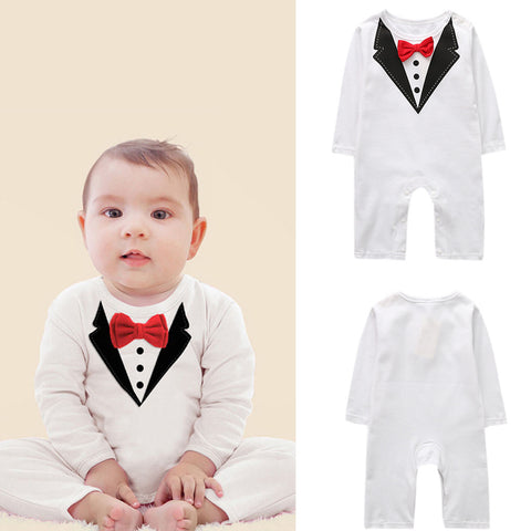 Autumn Newborn Baby Girls Boys Clothes Outfits Sets Jumpsuit