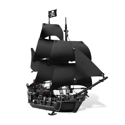 Pirates Of  The Caribbean Black Pearl Ship Model Building Blocks Educational Toys