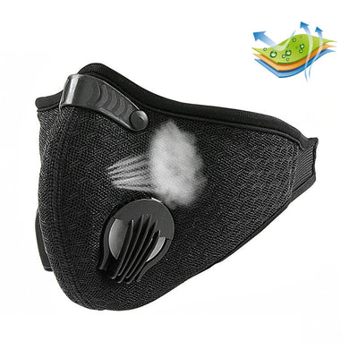 Anti Dust Training Mask With Filter Half Face Masks Face Cover