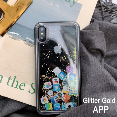 App iPhone Quicksand Case