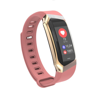 Waterproof Blood Pressure Smart Bracelet Heart Rate Monitor Sport Fitness Bracelet