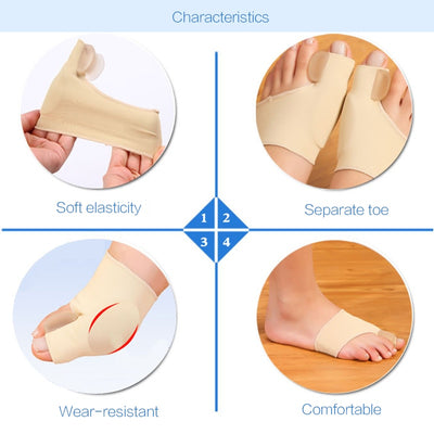Toe Separator Hallux Valgus Bunion Corrector Orthotics Feet Bone Thumb Adjuster