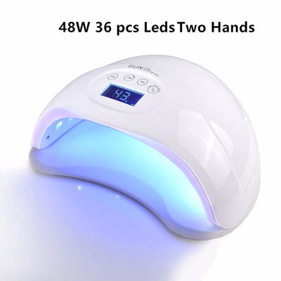 Biutee 72W 48W 24W LED Nail Dryer