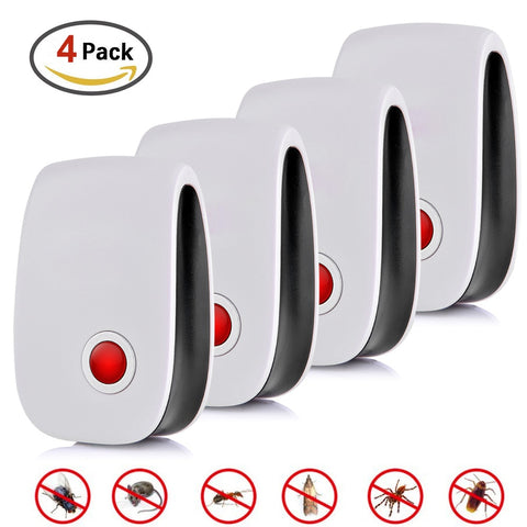 4pcs Ultrasonic Killer Mouse Cockroach