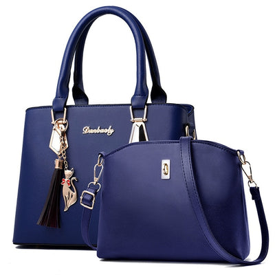 women bag Fashion Casual Contain two packages Luxury handbag Designer