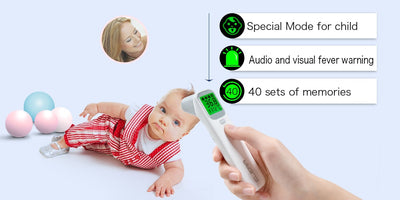 Infrared Non-Contact Baby Thermometer Digital LCD Body Measurement