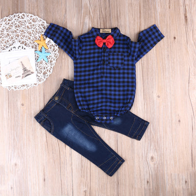 Autumn infant clothing Baby Boy Set 2PCS Baby Boy Clothes