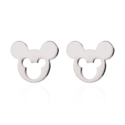 Mickey Earrings for Women Stainless Steel  Earings