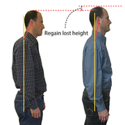 Height Increase Back Brace For Men & Women