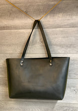Load image into Gallery viewer, Chrome Tanned Leather Tote