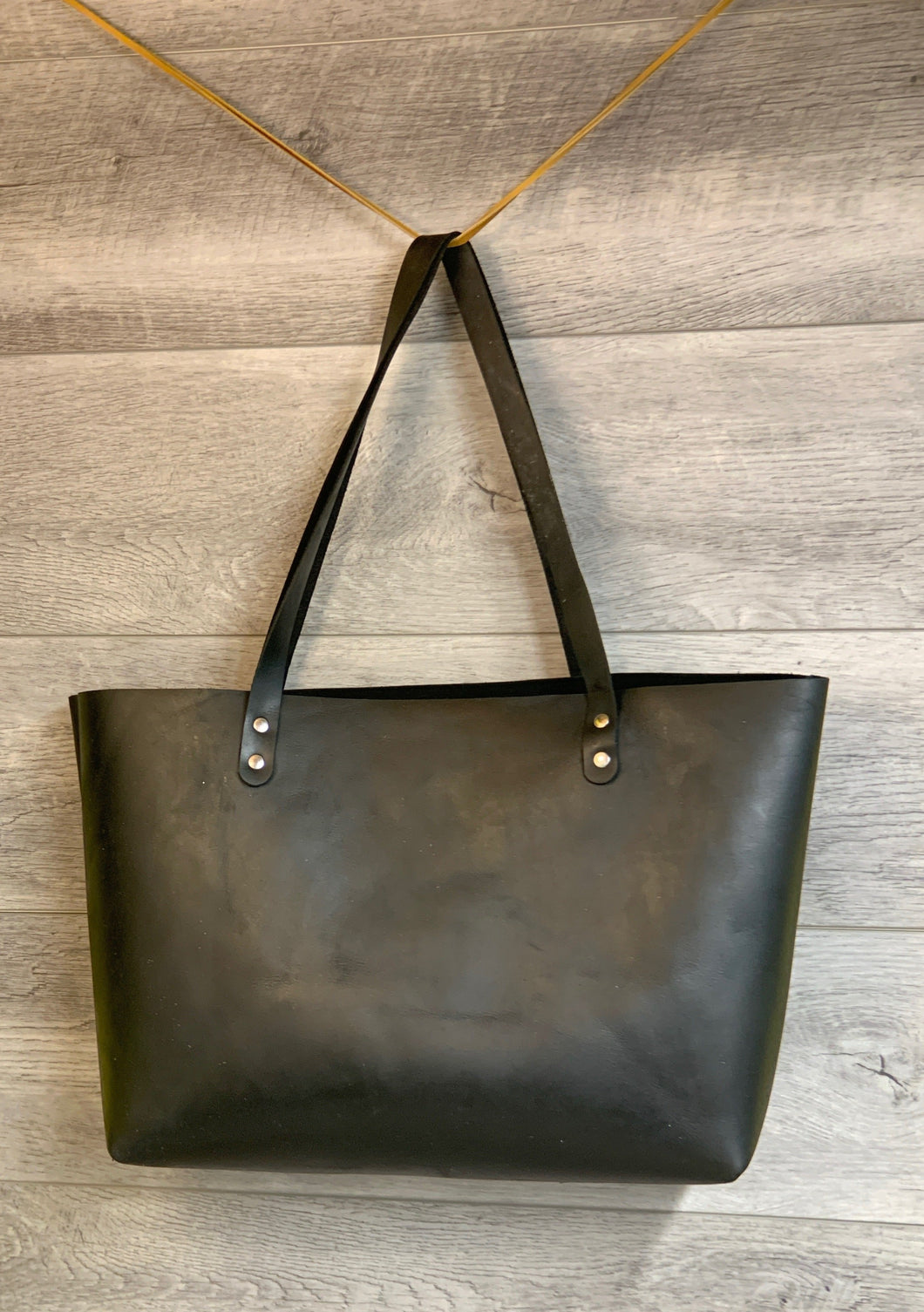 Chrome Tanned Leather Tote