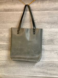 Meredith Leather Tote with Horween Handles
