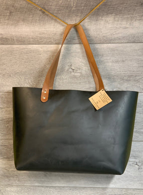 Tuscan Chrome Leather Tanned Tote