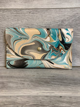 Load image into Gallery viewer, Marbled Leather Clutch