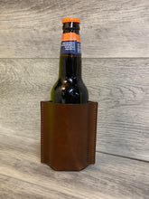 Load image into Gallery viewer, Leather Bottle Sleeve