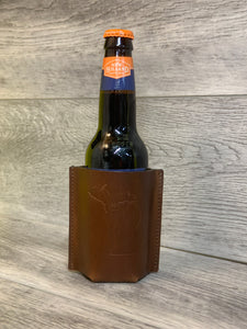 Leather Bottle Sleeve
