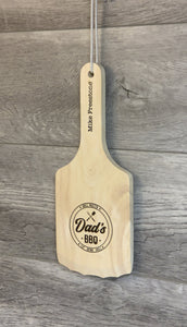 Wooden Grill Cleaner with Personalization