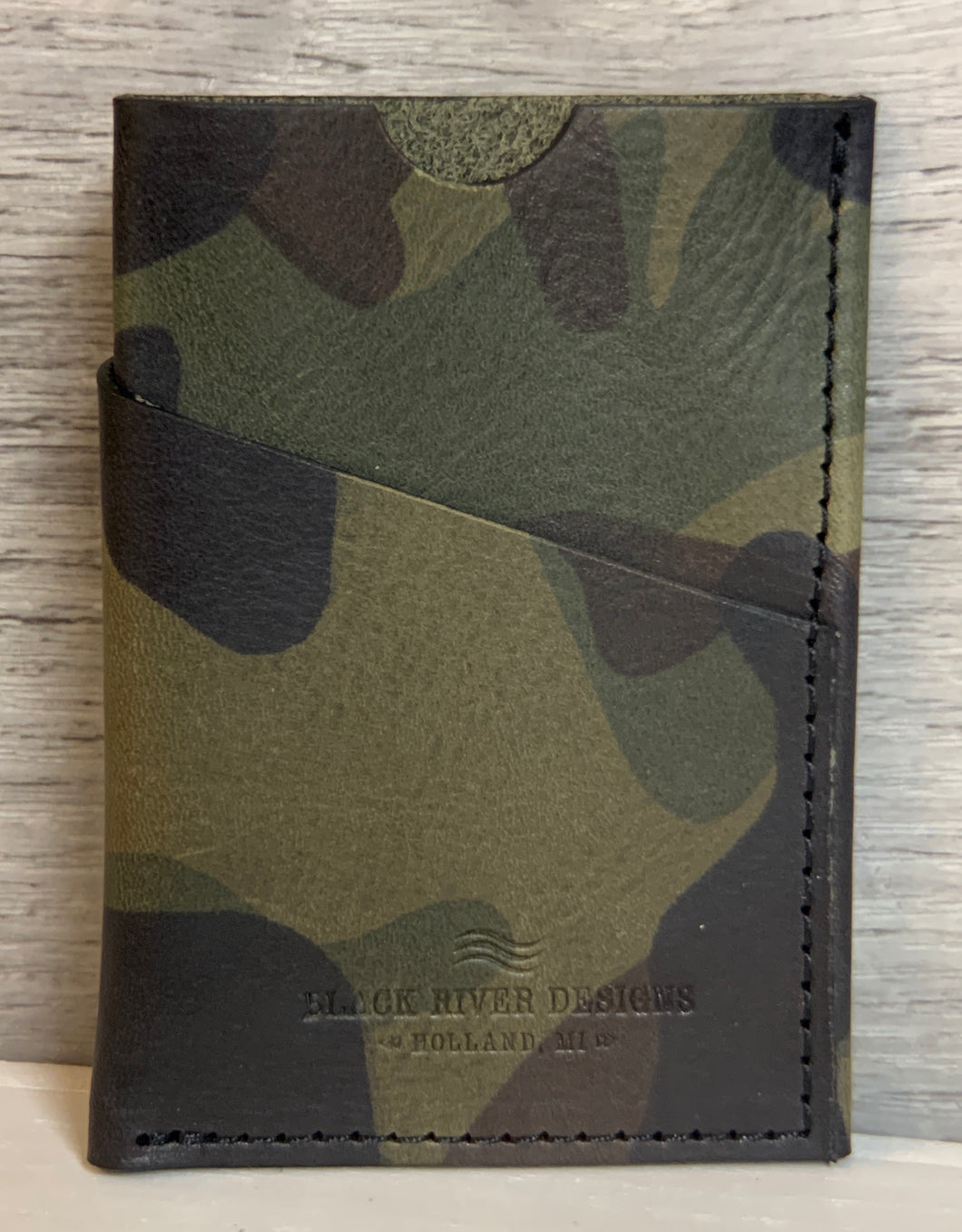 Camo Wrap Wallet - Green