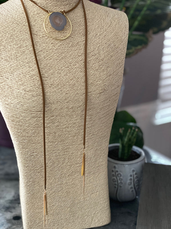 Old Town Road Bolo Necklace