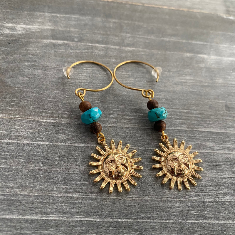 Sun Drop Earrings