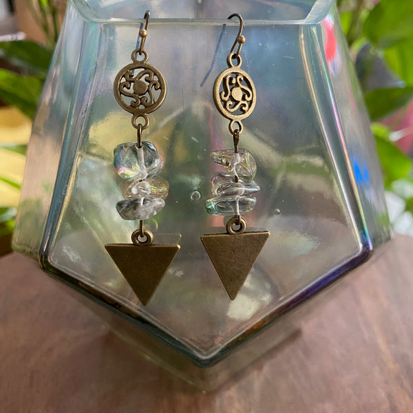 Let it Flow Geometry Earrings