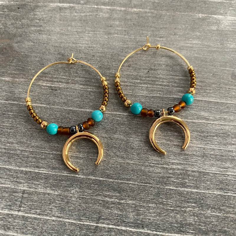 Fancy Boho Hoops