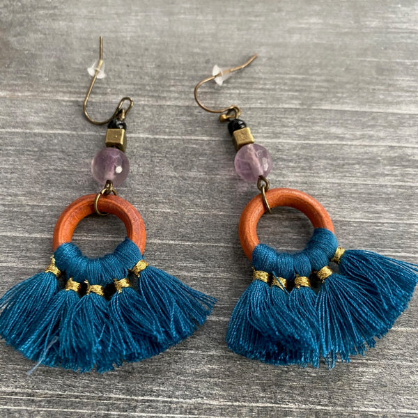 Fiesta Stone Earrings