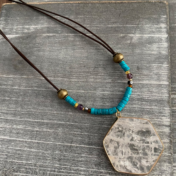 Tribal Clarity Necklace