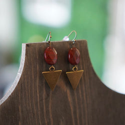 Simple Triangle Earrings