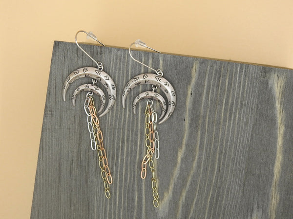 Many Moons Ago Earrings,Earrings - 12th Summer