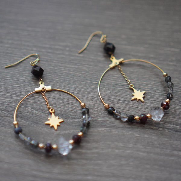 Silent Night Earrings