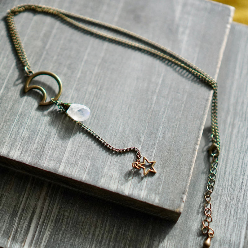 Sister Night Necklace