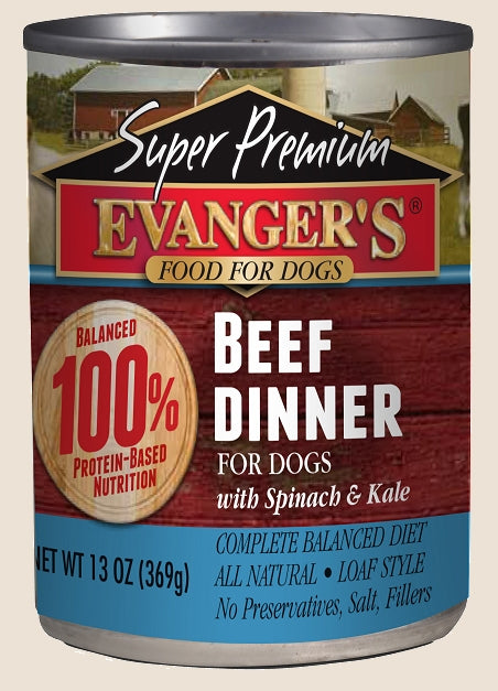 Evanger's Super Premium Beef Dinner - 13 oz.