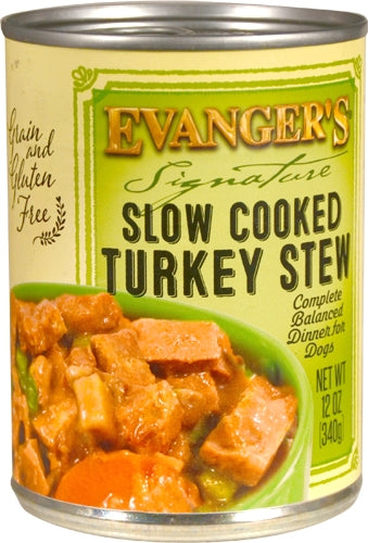 Evanger's Signature Slow Cooked Turkey Stew for Dogs - 12 oz.
