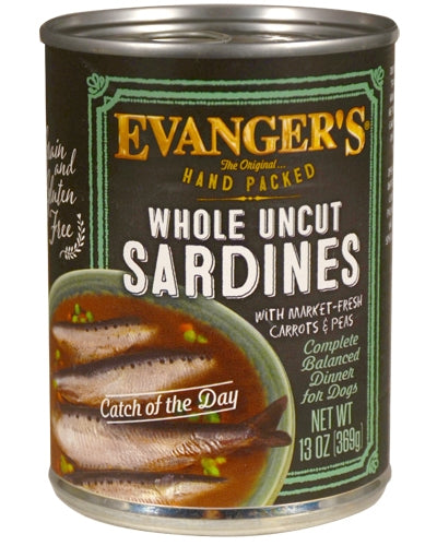 Evanger's Grain Free Hand-Packed Catch of the Day for Dogs - 12 oz.