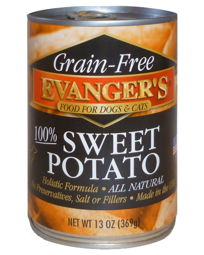 Evanger's Grain Free Sweet Potato - 13 oz.