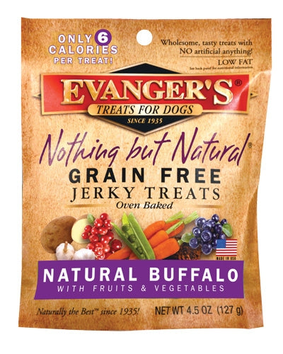 Evanger's Nothing But Natural Buffalo with Fruits & Vegetables