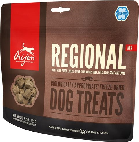Orijen Reginal Red Freeze Dried Dog Treat
