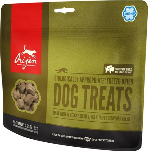 Orijen Orijen Kentucky Bison Freeze Dried Dog Treat