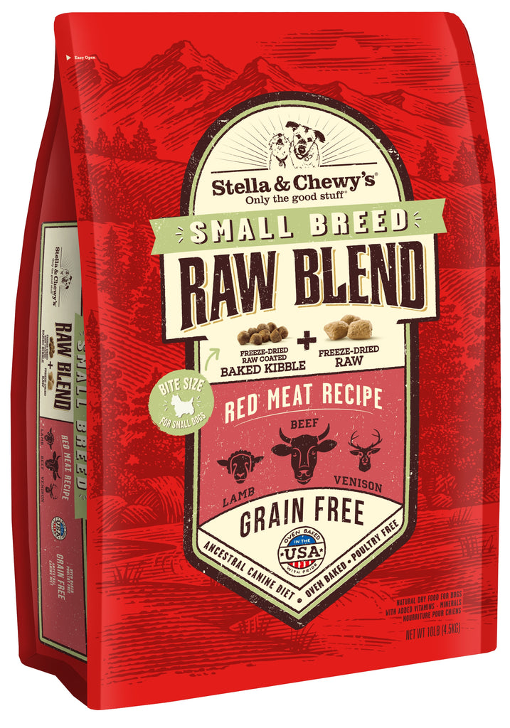 Stella & Chewy's Grain Free Raw Blend Small Breed Red Meat Recipe Dog Food