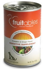 Fruitables Pumpkin & Ginger Flavor Digestive Supplement