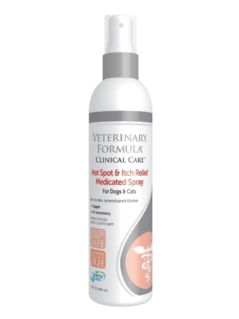 Synergy Labs Veterinary Formula Hot Spot & Itch Relief Spray for Dogs & Cats - 8 fl. oz.