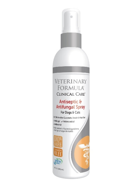 Synergy Labs Veterinary Formula Antiseptic & Antifungal Spray for Dogs & Cats - 8 fl. oz.