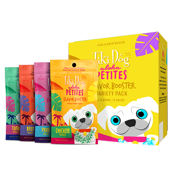 Tiki Dog Aloha Petites Flavor Booster Variety Pack