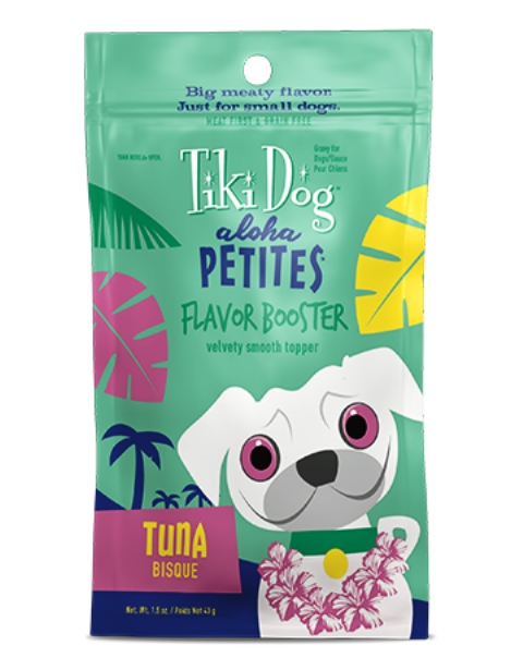 Tiki Dog Aloha Petites Flavor Booster Tuna Bisque - 1.5 oz.