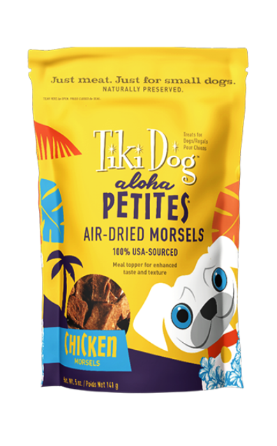 Tiki Dog Aloha Petites Chicken Morsels - 5 oz.