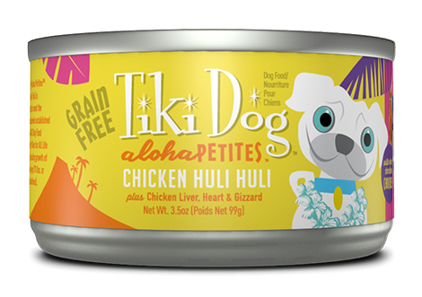Tiki Dog Aloha Petites Wet Food Chicken Huli Huli - 3.5 oz.